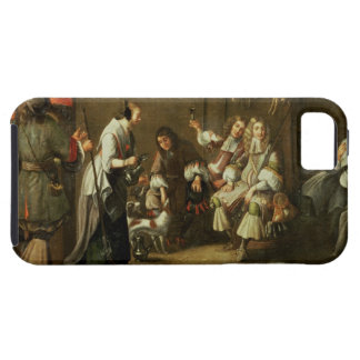 Cavaliers and Companions Carousing in a Barn iPhone 5 Cases