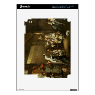 Cavaliers and Companions Carousing in a Barn iPad 3 Decals