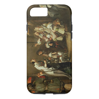 Cavaliers and Companions Carousing in a Barn iPhone 8/7 Case