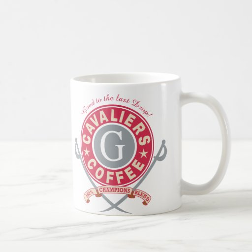 Cavaliers Coffee Classic White Coffee Mug