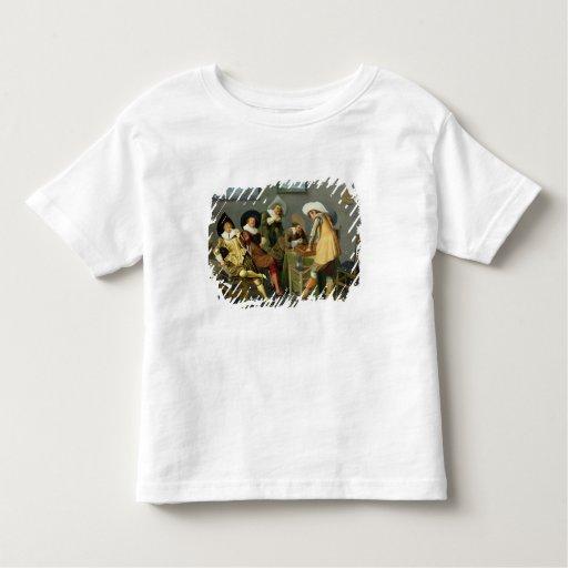 Cavaliers en una taberna tee shirt