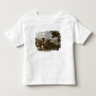 Cavaliers in Battle (oil on canvas) Toddler T-shirt