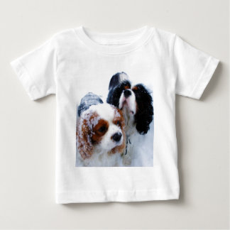 Cavaliers in the Snow Baby T-Shirt