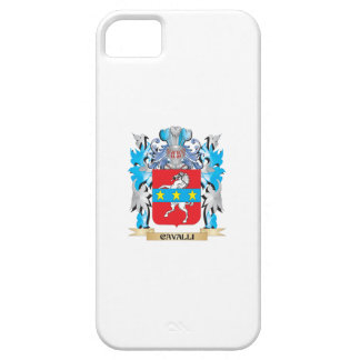 Cavalli Coat of Arms - Family Crest iPhone 5 Covers