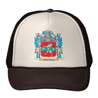 Cavalli Coat of Arms - Family Crest Trucker Hat