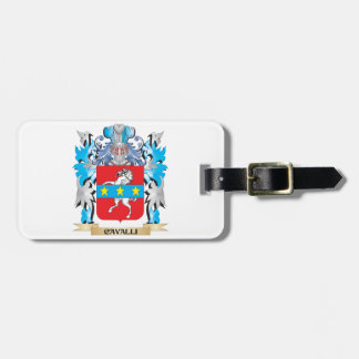 Cavalli Coat of Arms - Family Crest Luggage Tag