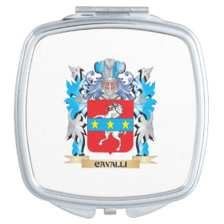 Cavalli Coat of Arms - Family Crest Mirrors For Makeup