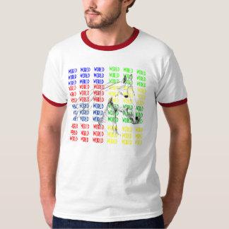 cavalo_013 [1], WORLD   WORLD   WORLD   WORLD   … T-Shirt