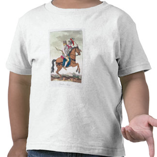 Cavalry Archer, from 'L'Antica Roma', 1825 (colour Tshirts