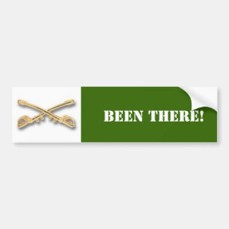 cavalry, BEEN THERE! Bumper Sticker