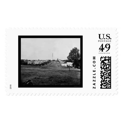 Cavalry Camp at Prospect Hill, VA 1865 Postage Stamps