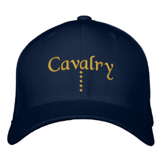 Cavalry Embroidered Baseball Cap