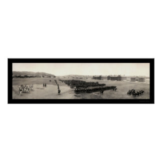 Cavalry Fort Meade Photo 1909 Posters