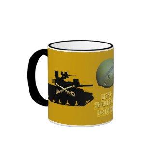Cavalry Gold M551 Sheridan Driver Mug mug