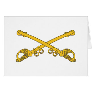 Cavalry insignia card