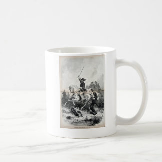 Cavalry officer coffee mug