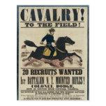 Cavalry! Post Card