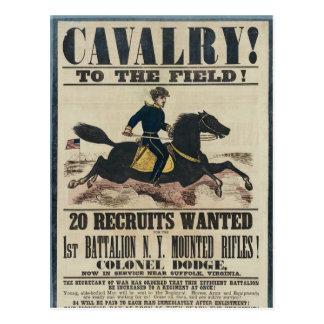 Cavalry! Postcard