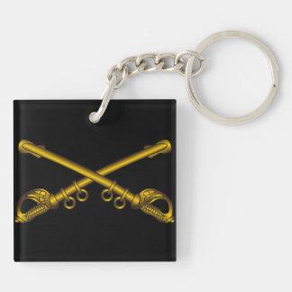 Cavalry Sabers Key Chain