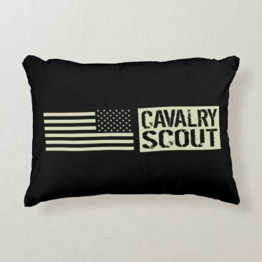 Cavalry Scout Accent Pillow