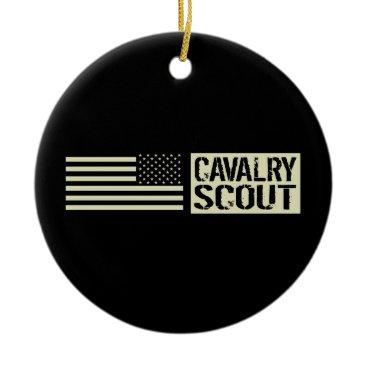 Cavalry Scout Ceramic Ornament