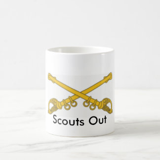 Cavalry, Scouts Out Coffee Mug