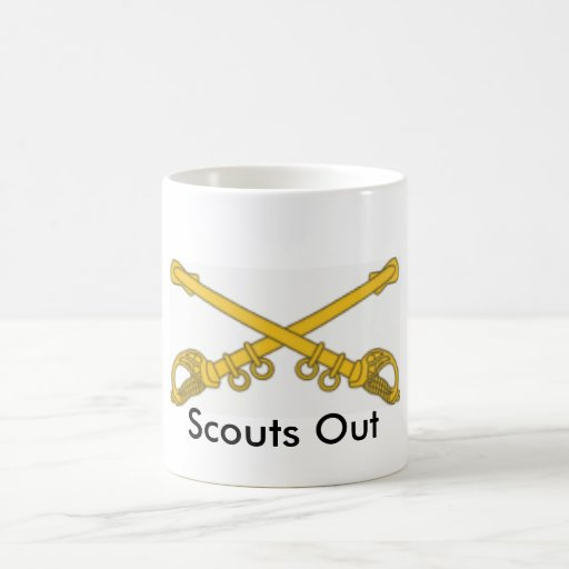 Cavalry, Scouts Out Coffee Mugs