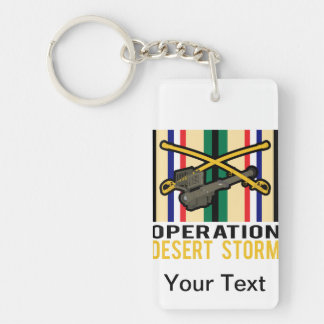 Cavalry Stinger Desert Storm Keychain