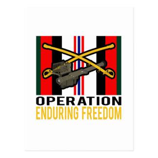 Cavalry Stinger OEF Postcard