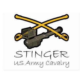 Cavalry Stinger Postcard