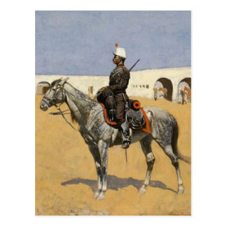 Cavalryman of Line Postcard