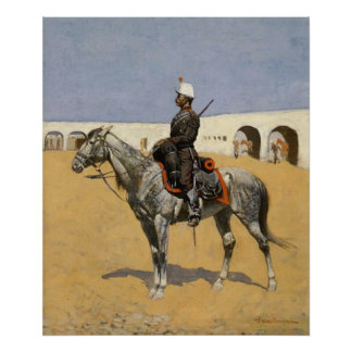 Cavalryman of Line Poster