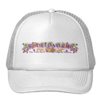 Cavamos el casquillo del logotipo de la tienda de  gorras de camionero