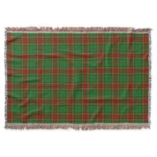 Cavan County Irish Tartan Throw Blanket