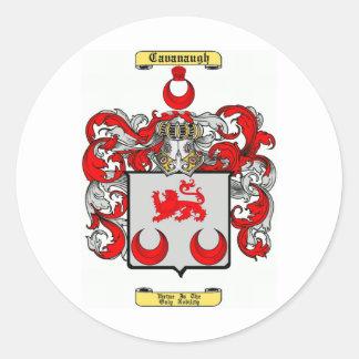 Cavanaugh Pegatina Redonda