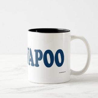 Cavapoo Blue Two-Tone Coffee Mug