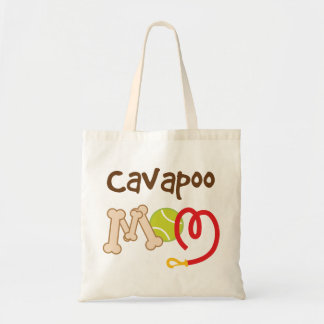 Cavapoo Dog Breed Mom Gift Budget Tote Bag