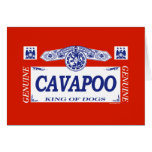 Cavapoo Tarjeton