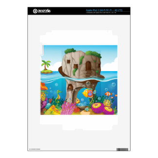 Cave and ocean skins for iPad 3