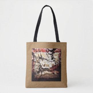 Cave Art: Bull Tote Bag