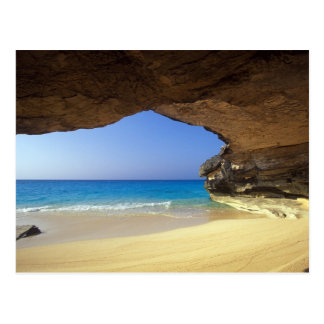 Cave at French Bay, San Salvador Island, Postcard