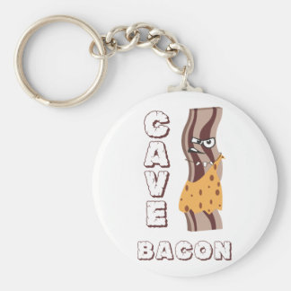 Cave Bacon Keychain
