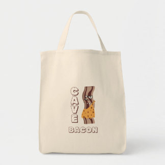 Cave Bacon Tote Bag