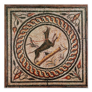 Cave Canem  2nd-3rd century Poster