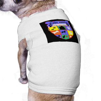 Cave canem -- beware of dog! doggie t-shirt