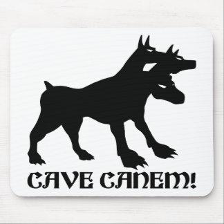 CAVE CANEM - BEWARE OF DOG Latin Mouse Pad