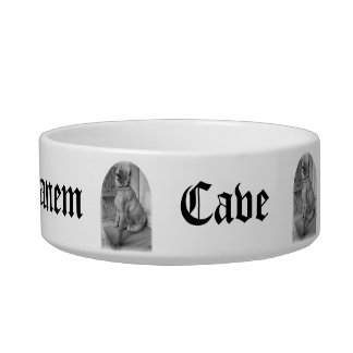 Cave Canem Dog Bowl