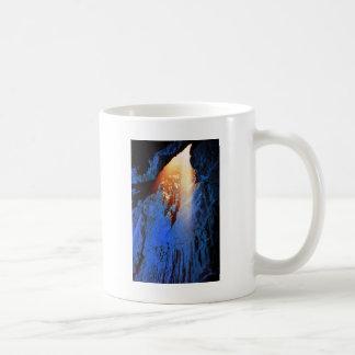 Cave design coffee mug