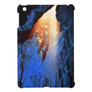 Cave design cover for the iPad mini