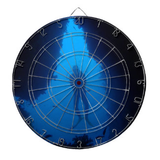 Cave Diver Dartboard With Darts